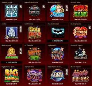 Our Top Recommended Slot Casinos