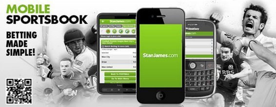 Stan James mobile app