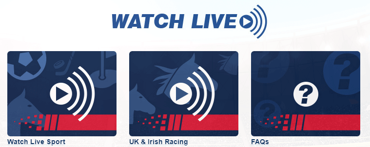 Live streaming Betfred