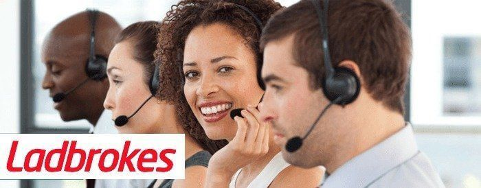 customer service Ladbrokes