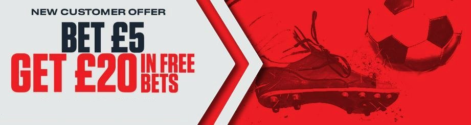 Get £20 from a £5 bet Ladbrokes promo