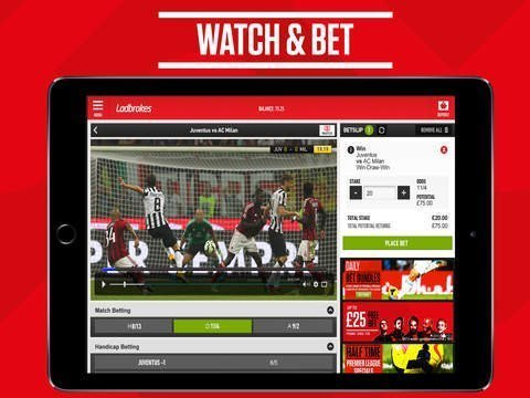 streaming live Ladbrokes