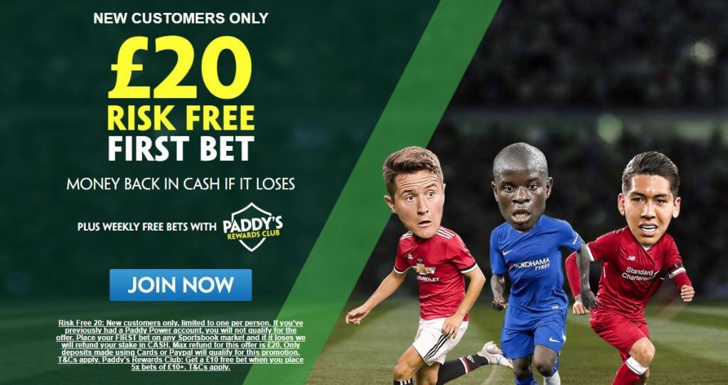 sport bonus paddy power