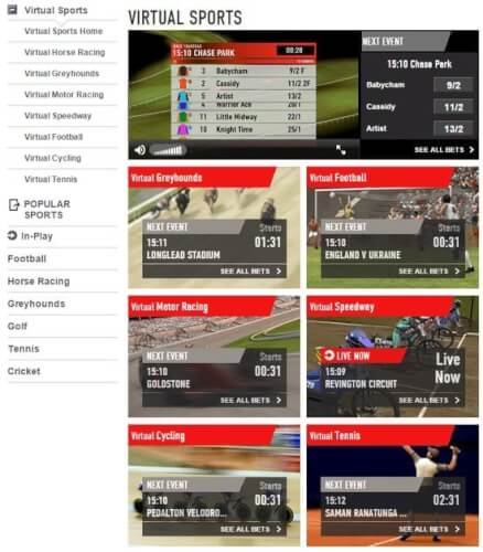 virtual sports ladbrokes