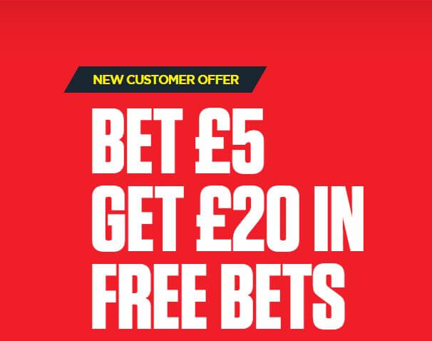 Ladbrokes Euro 2020 Offers