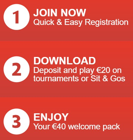 How to claim the poker welcome offer with the paddy power promo code
